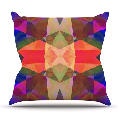 Irridesco by Nina May Outdoor Throw Pillow