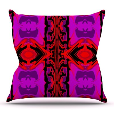 Ornamena by Nina May Outdoor Throw Pillow