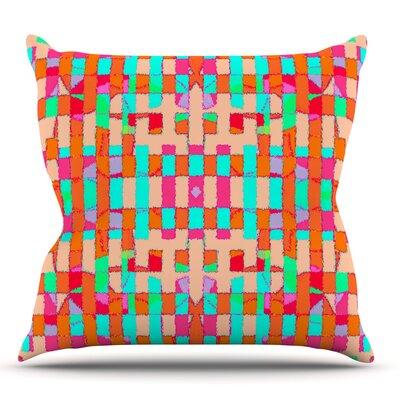 Sorbetta by Nina May Outdoor Throw Pillow