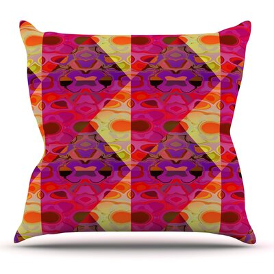 Allicamohot by Nina May Outdoor Throw Pillow