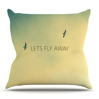 Lets Fly Away by Richard Casillas Outdoor Throw Pillow