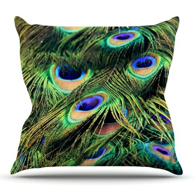 You Are Beautiful by Robin Dickinson Outdoor Throw Pillow