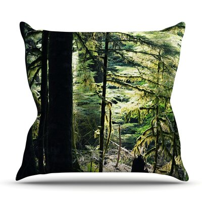 Enchanted Forest by Robin Dickinson Outdoor Throw Pillow