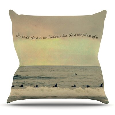 Pieces of Heaven by Robin Dickinson Outdoor Throw Pillow
