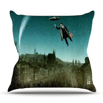 The Departure by Suzanne Carter Outdoor Throw Pillow