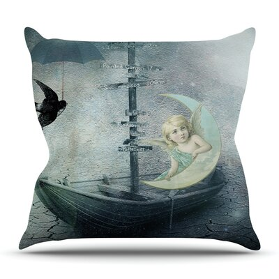 Rain by Suzanne Carter Outdoor Throw Pillow