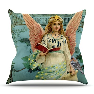The Delivery by Suzanne Carter Outdoor Throw Pillow