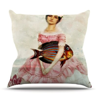 The Gardener by Suzanne Carter Outdoor Throw Pillow