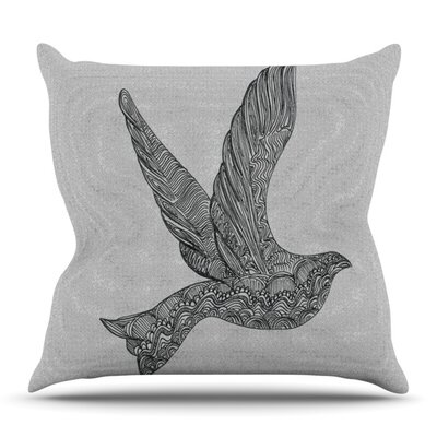 Dove by Belinda Gillies Outdoor Throw Pillow