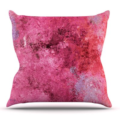 Cotton Candy by CarolLynn Tice Outdoor Throw Pillow