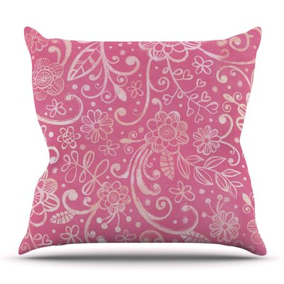 Too Much by Heidi Jennings Outdoor Throw Pillow