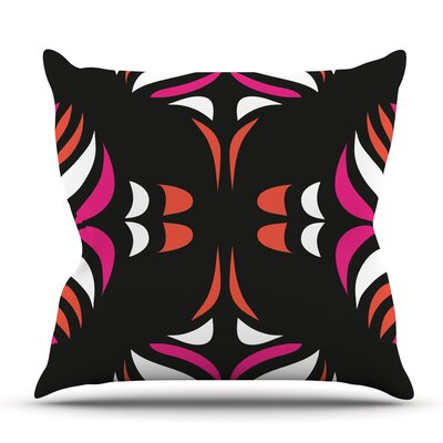 Hawaiian Retro by Miranda Mol Outdoor Throw Pillow