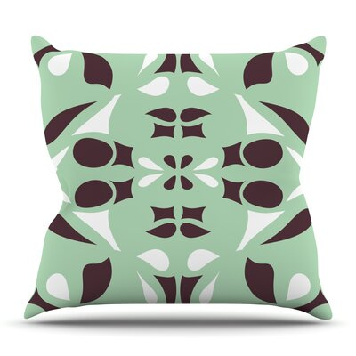 Swirling by Miranda Mol Outdoor Throw Pillow