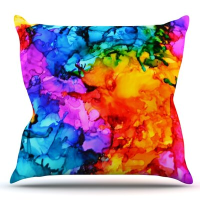 Sweet Sour II by Claire Day Outdoor Throw Pillow