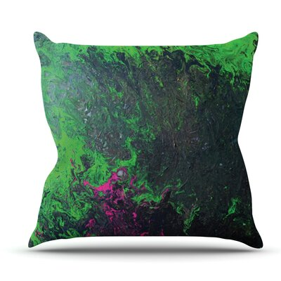 Acid Rain by Claire Day Outdoor Throw Pillow