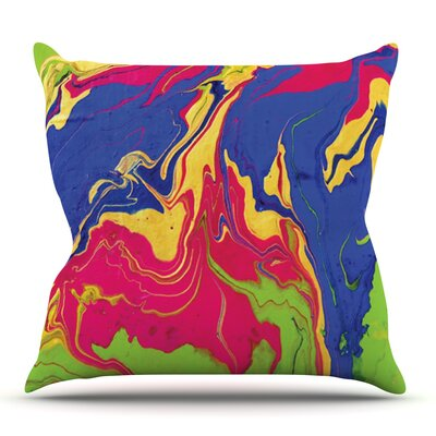 Escaping Reality by Claire Day Outdoor Throw Pillow