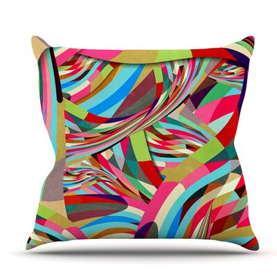 Fun by Danny Ivan Outdoor Throw Pillow