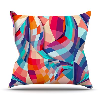 Versicolor by Danny Ivan Outdoor Throw Pillow