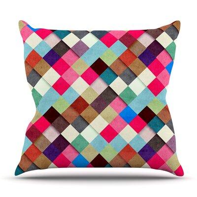 Ubrik by Danny Ivan Outdoor Throw Pillow
