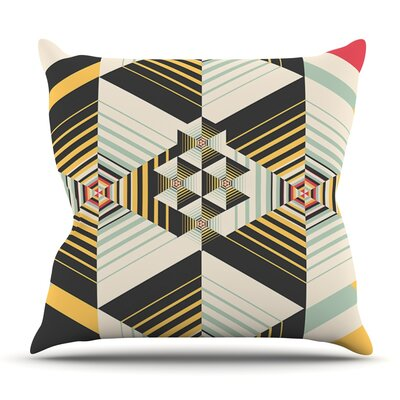 La Plus by Danny Ivan Outdoor Throw Pillow