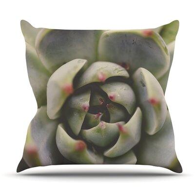 Desert Succulent by Debbra Obertanec Outdoor Throw Pillow