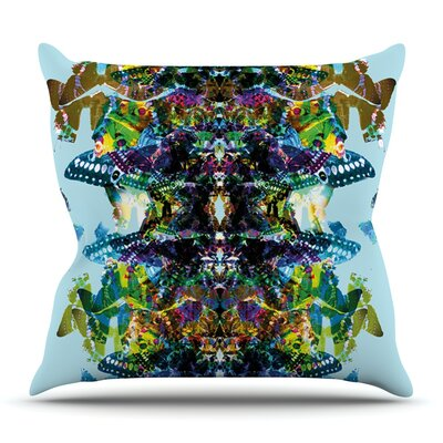 Butterfly by Danii Pollehn Outdoor Throw Pillow