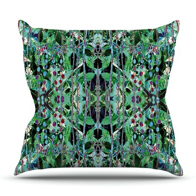 Grun by Danii Pollehn Outdoor Throw Pillow