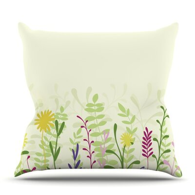 Springtime by Emma Frances Outdoor Throw Pillow