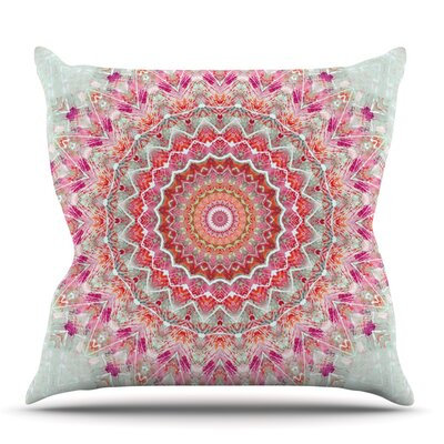 Summer Lace III by Iris Lehnhardt Outdoor Throw Pillow