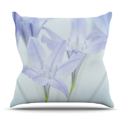 Triplet Lily by Iris Lehnhardt Outdoor Throw Pillow