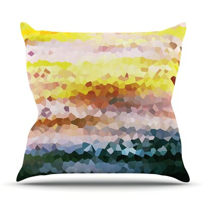 Turaluraluraluuu by Iris Lehnhardt Outdoor Throw Pillow