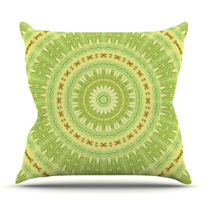 Wheel of Spring by Iris Lehnhardt Outdoor Throw Pillow