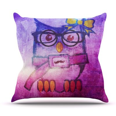 Showly by iRuz33 Outdoor Throw Pillow