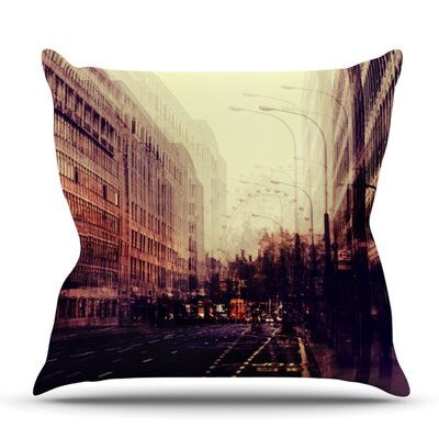 London by Ingrid Beddoes Outdoor Throw Pillow