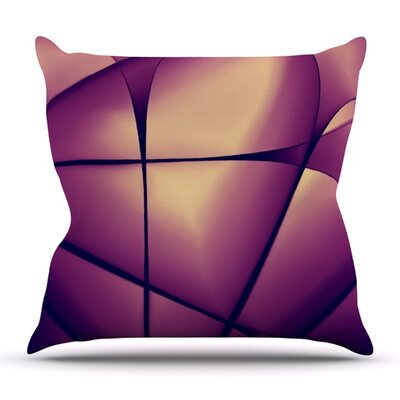 Paper Heart by Ingrid Beddoes Outdoor Throw Pillow
