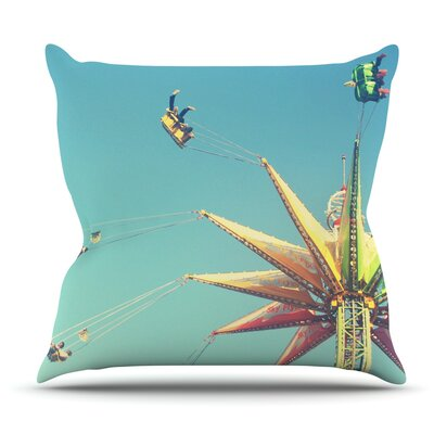 Flying Chairs by Libertad Leal Outdoor Throw Pillow