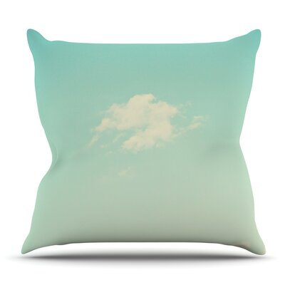 Cloud 9 by Libertad Leal Outdoor Throw Pillow