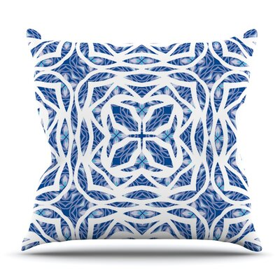 Explosion by Miranda Mol Outdoor Throw Pillow