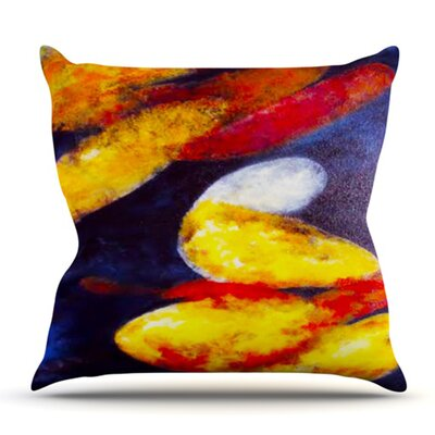 Into The Light by Rosie Brown Outdoor Throw Pillow