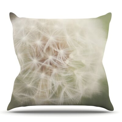 Dandelion by Catherine McDonald Outdoor Throw Pillow