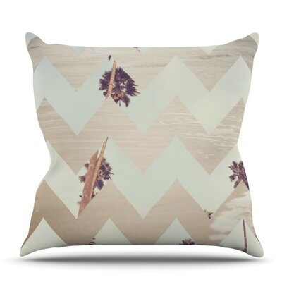 Oasis by Catherine McDonald Outdoor Throw Pillow