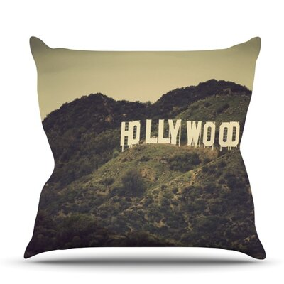 Hollywood by Catherine McDonald Outdoor Throw Pillow
