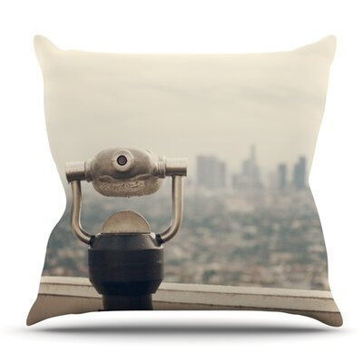 The View LA by Catherine McDonald Outdoor Throw Pillow