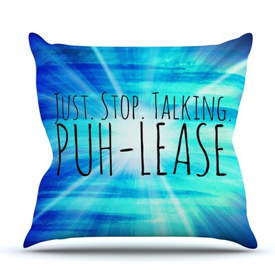 Puh-lease by Ebi Emporium Outdoor Throw Pillow