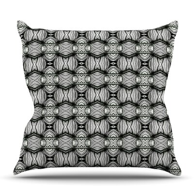 Flor by Matthias Hennig Outdoor Throw Pillow