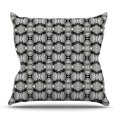 Flor by Matthias Hennig Outdoor Throw Pillow