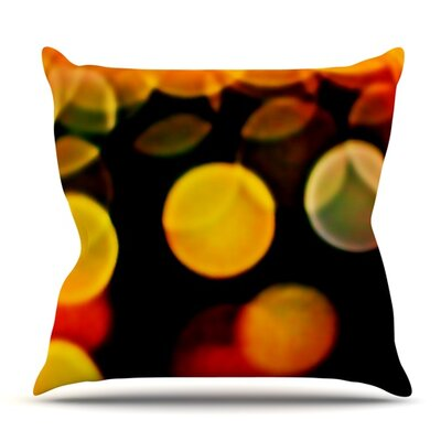 Lights by Maynard Logan Outdoor Throw Pillow