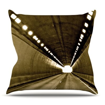 Tunnel by Maynard Logan Outdoor Throw Pillow