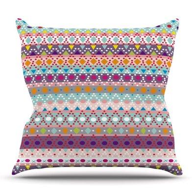 Ayasha by Nika Martinez Outdoor Throw Pillow