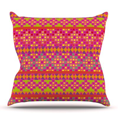Mexicalli by Nika Martinez Outdoor Throw Pillow